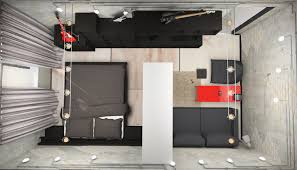 one room apartment design design small one room apartment using loft style ikea house plans