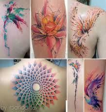 35 fabulous feminine watercolors tattoos ideas stylefrizz