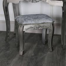 tabouret de chambre copié coiffeuse tabouret rembourré chambre cagne française
