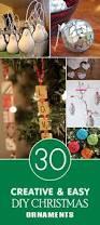 30 creative and easy diy christmas ornaments diy christmas