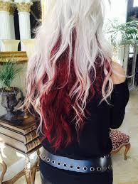 dye bottom hair tips still in style best 25 red hair underneath ideas on pinterest res hair color