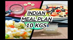 how to lose weight fast 10kg in 10 days indian meal plan veg