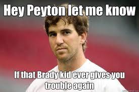 Funny Broncos Memes - pin by bernadette de joya on eli manning pinterest peyton