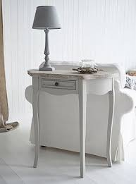 Narrow White Console Table The White Lighthouse Grey Console And Sofa Tables For Your Living