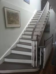 Painting A Banister White 27 Painted Staircase Ideas Which Make Your Stairs Look New Paint