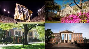 university lighting chapel hill top 25 colleges in the south 2017