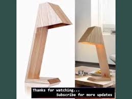 wood contemporary table lamps collection modern wood table lamps