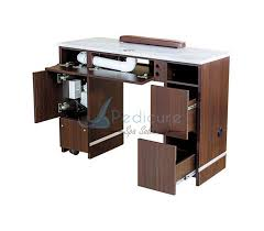 manicure table with vent nail table with ventilation system