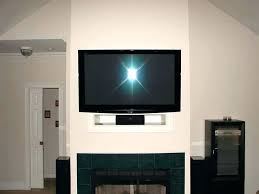 where to put tv tv hole above fireplace above fireplace where to put components