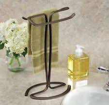 Bathroom Counter Towel Holder Countertop Towel Rack Ebay