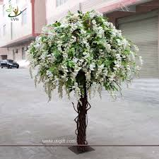 uvg chr047 wedding decoration artificial wisteria blossom tree
