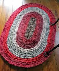 Handmade Rag Rugs For Sale Handmade Cotton Crochet Rug Rectangle 24 X By Generationslampwork