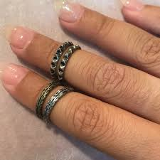 knuckle rings images Forever 21 jewelry set of 4 knuckle rings poshmark jpg