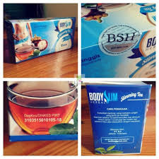 Teh Bsh bsh tea teh pelangsing poriskosmetik