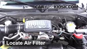 2002 dodge dakota fuel air filter how to 1997 2004 dodge dakota 2002 dodge dakota slt
