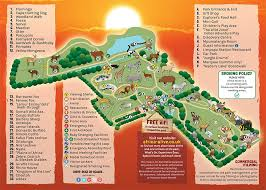 africa map islands africa alive animal conservation zsea park map