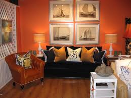 Orange Pillows For Sofa by Barclay Butera Blog April 2010