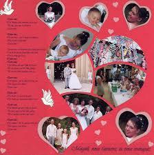 scrapbooking mariage mariage magali scrap album photos scrapatou