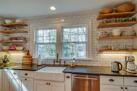 open shelving in kitchen local design experts dish on the hottest kitchen trends