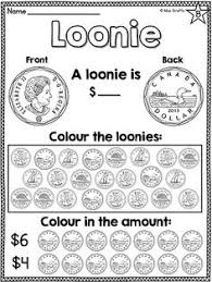 canadian money coins book printable free math candian coins