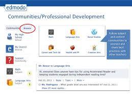 edmodo teacher edmodo teacher training presentation