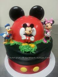 mickey mouse cake coolest mickey mouse and friends cake