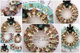live life create art teacher gift idea clothespin wreath w