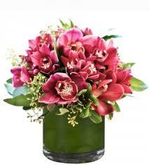 cymbidium orchid cymbidium orchid arrangement in vancouver bc florist