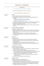 Basketball Resume Examples by Helper Resume Samples Visualcv Resume Samples Database