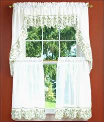 Green And White Kitchen Curtains Green And White Kitchen Curtains Beautiful Kitchen Curtain Sets