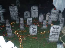 scary halloween decorations for party cement patio 56 fun and