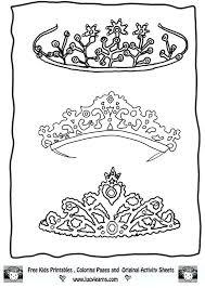 Tiara Coloring Pages Princesses Crown Coloring Page Princess Princess Crown Coloring Page Free Coloring Sheets