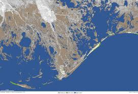 Louisiana Highway Map Thriving On A Sinking Landscape Noaa Climate Gov