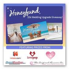 honeyfund wedding justlove 5k wedding upgrade giveaway from honeyfund ends dec 31st