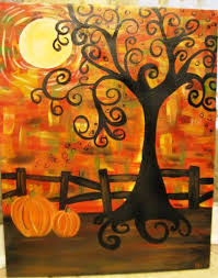 best 25 fall paintings ideas on fall canvas painting