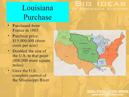 usa map louisiana purchase big ideas in u s history part 1