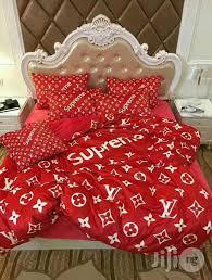 louis vuitton bedroom set lv supreme designer bed spread for sale in surulere buy home