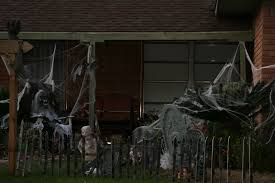 clifton man takes down popular halloween display after getting