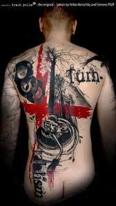 trash polka tattoo by buena vista tattoo club