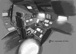 spaceship interior concept art concept space ship design of a