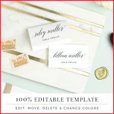 printable place cards inspirational card template pics of wedding planner 155909