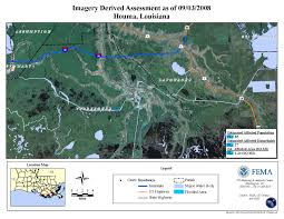 New Orleans Flood Map by Disaster Relief Operation Map Archives