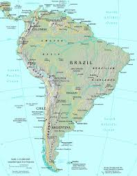 south america map bolivia map of south america map south america atlas