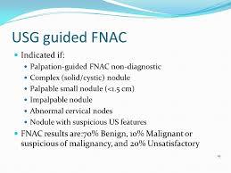 fnac si e social approach to a of thyroid nodule ppt