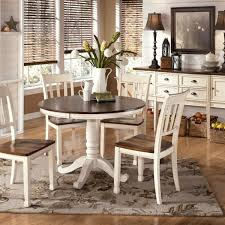 meaningful round pedestal dining table