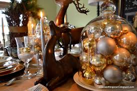 christmas bauble table decoration u2013 decoration image idea