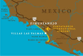 zihuatanejo map playa blanca zihuatanejo mexico orchard view color