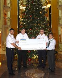 royal caribbean spreads christmas cheer to seniors group in