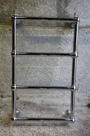 Small Radiators For Bathrooms - traditional victorian style wall mounted heated towel rail