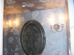 Guest Powder Room Guest Powder Room Walls Picture Of The Month Fabric On Walls